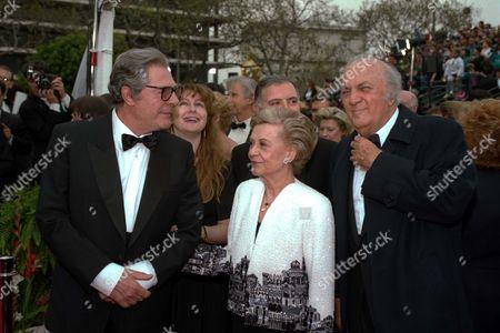FELLINI Our files shows Marcello Mastroianni, Giulietta Masina, Federico Fellini