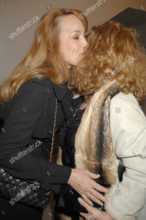Jerry Hall and Nona Summers