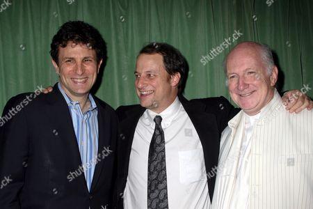 Stock Image of David Remnick, George Packer, Allan Buchman