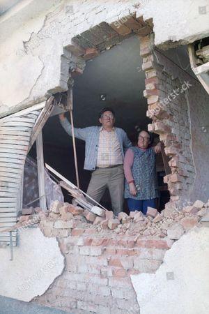 Editorial picture of Yugoslavia Crisis Croatian destruction, Bjelovar, Croatia