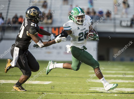 Editorial image of NCAA Football Tulane vs Central Florida, Orlando, USA - 05 Nov 2016