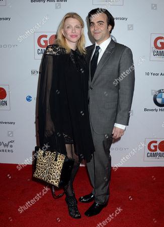 Courtney Love and boyfriend Nicholas Jarecki