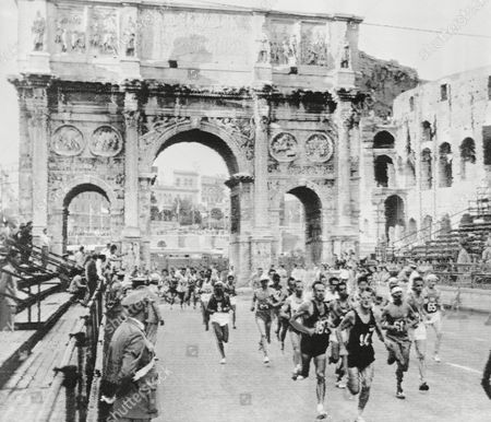 Editorial picture of 1960 Summer Olympics, Rome, Italy
