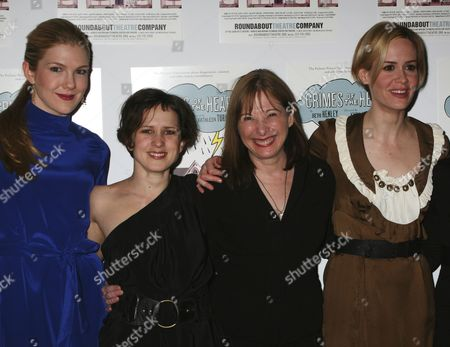 Lily Rabe, Jennifer Stone, Beth Henley, Sarah Paulson