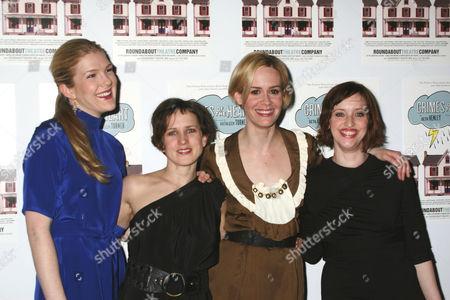 Lily Rabe, Jennifer Dundas, Sarah Paulson, Jessica Stone