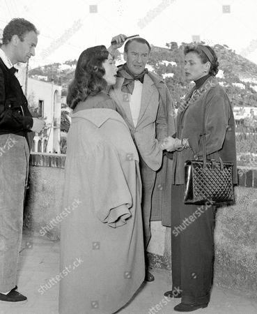 Editorial image of ACTORS IN ITALY 1953, NAPLES, Italy
