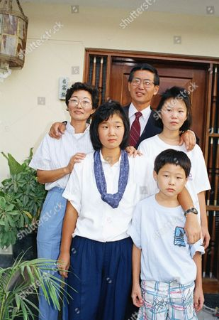Alberto Fujimori Alberto Fujimori, Peruvian candidate, poses with his wife Susana Higuchi, left, and their thee children Keiko Sofia, Sachie Marcela, and Kenji Gerardo, at their home in Lima, . Fujimori, who was virtually unknown a month ago, took second place in Sunday's presidential elections, forcing a runoff with famed novelist Mario Vargas Llosa