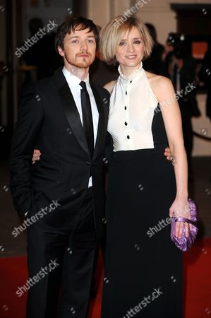 James McAvoy and Ann Marie Duff