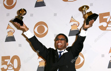 Editorial photo of 50th Annual Grammy Awards, pressroom at the Staples Center, Los Angeles, America - 10 Feb 2008