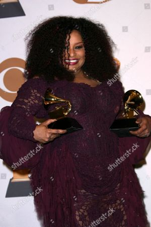 Editorial image of 50th Annual Grammy Awards, pressroom at the Staples Center, Los Angeles, America - 10 Feb 2008