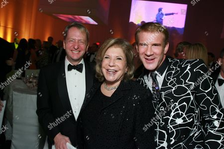 David Bohnett, Wallis Annenberg and Tom Gregory