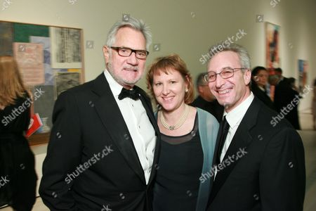 Stock Picture of Gil Friesen, Wendy Strick and Jeremy Strick