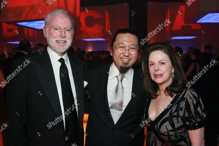 Stock Image of Leonard Goldberg, Takashi Murakami and Wendy Goldberg