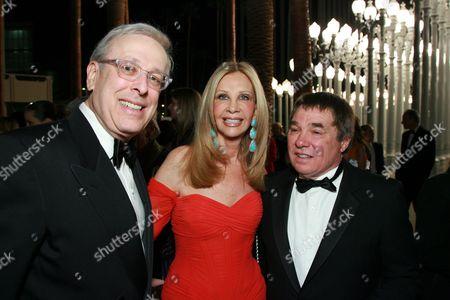 Stock Image of Marc Nathanson, Jane Nathanson and Chris Burden