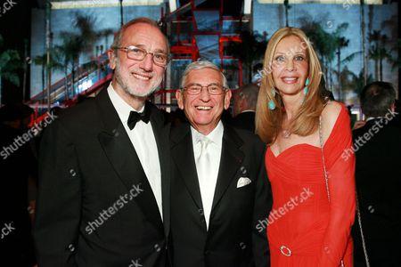 Renzo Piano, Eli Broad and Jane Nathanson