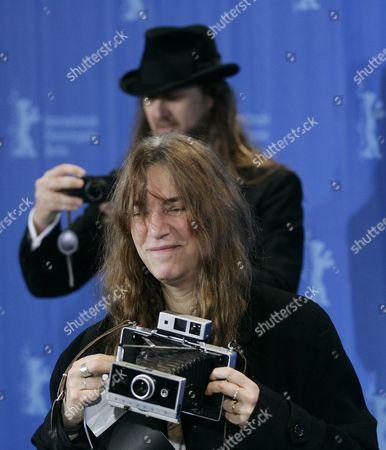 Steven Sebring ( director) and Patti Smith