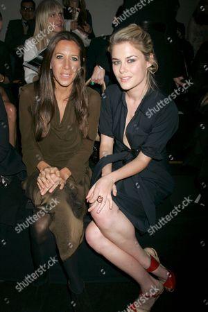 Stock Photo of Gabby Karan and Rachael Taylor