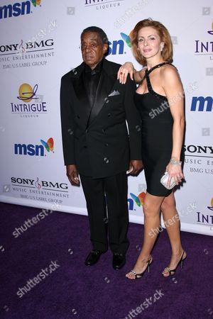 Don Cornelius and Wife
