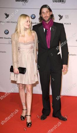 David de Rothschild and Annabelle Horsey