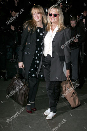 Twiggy Lawson and her daughter Carly Witney