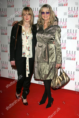 Twiggy and her daughter Carly Witney