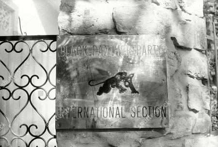 Black Panther residence El Biar district Algiers Editorial Stock ...