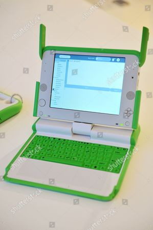 One Laptop Per Child, Design by Yves Behar of Fuseproject, for OLPC and Quanta Computer Inc.