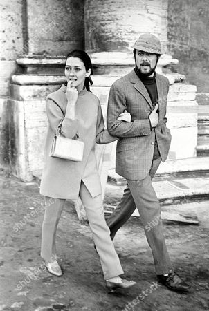 Curtis Kaufmann American actor Tony Curtis strolls through downtown Rome, Italy, with his wife Christine Kaufmann, . He is in Italy to make a movie