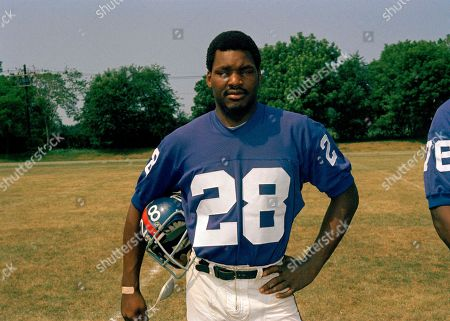 Stock Image of Clifton Davis Running back Clifton Davis of the New York Giants is shown in this 1973 photo. Exact date and location are unknown