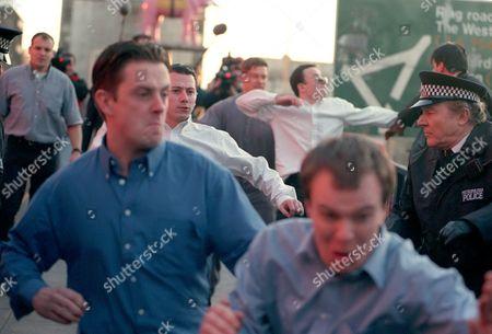 'The Murder of Stephen Lawrence' -  Suspects;  Neil Acourt (Ricci Harnett) Jamie Acourt (Lee Colley) Luke Knight (Darren Morfitt) Gary Dobson (Neil Maskill) David Norris (Dominic Power)