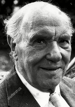British actor Sir Ralph Richardson, shown, one of the most acclaimed figures in the English speaking theater, played Dr. Watson in motion pictures