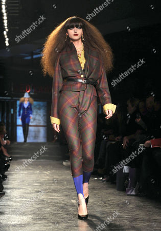 Stock Image of Amanda Lopes on Catwalk