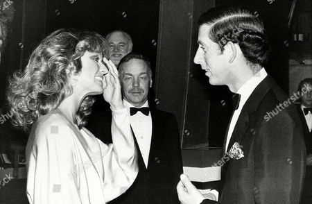 Fawcett Prince Charles American actress Farrah Fawcett-Majors, left, meets the Prince of Wales backstage at the London Palladium after the Royal show Supernight in London, England, on . Fawcett was the emcee for the benefit event that raised funds for the United World College