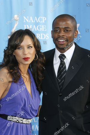 Dule Hill and wife Nicole Lyn