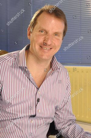 Editorial photo of Sports journalist Henry Winter of the Daily Telegraph on the set of '50 Greatest Celebrity Meltdowns' at the Mentorn Productions offices in London, Britain - 25 Jan 2008