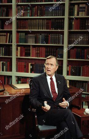 Editorial photo of George H. Bush