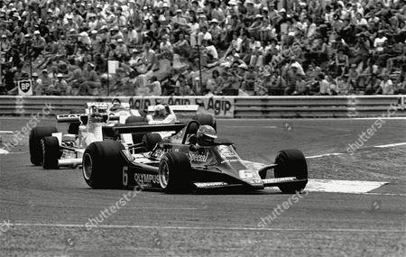 Sweden's Ronnie Peterson is pictured during the France Grand Prix of . He placed second