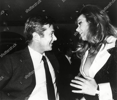 "Bryan Forbes; Ingrid Pitt German-Polish actress Ingrid Pitt talks with Bryan Forbes, supremo of the British film industry, during a reception held at the Savoy Hotel in London, United Kingdom,, to announce that Hammer Film Productions of Britain and American International Pictures of Hollywood are to join forces to make ""The Vampire Lovers"" in which Miss Pitt stars. The film, adapted from the classic novella ""Carmilla"" by J. Sheridan Le Fanu, also stars Peter Cushing, Dawn Addams, Madeline Smith, George Cole and Kate O'Mara"