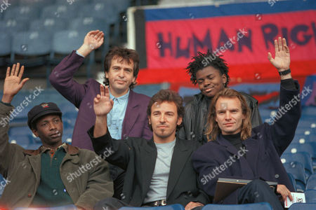 Editorial picture of Human Rights Now Tour 1988