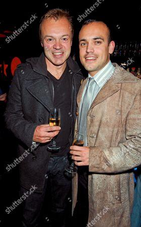 Graham Norton and friend