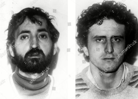 Antonio Maggio, Lucio Bianchi Jan. 1984 police handout photos of L/R Antonio Maggio and Lucio Bianchi, arrested as suspects in the kidnapping of Bulgari jewelry company heiress Anna Bulgari Calissoni and her son, whose right ear was cut off to force relatives into paying ransom. Four Sardinian shephers and a man from the Southern Italian region of Puglia were arrested and charged in the abduction