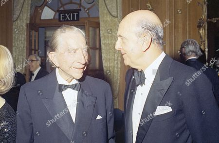 Paul Getty, King Umberto J. Paul Getty celebrates his 80th birthday at a party at the Dorchester Hotel in London . Among the dignitaries that were there: Patricia Cox, Dau. of President Nixon, Ambassador Walter Annenberg, Ex-King Umberto of Italy, the Dutchess of Argyll, Margaret, who have the party and Charles Clore, millionaire financier, and others