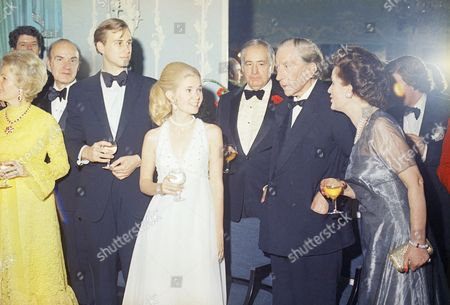 Editorial photo of J. Paul Getty celebrates his 80th birthday, London, Gbr Xen