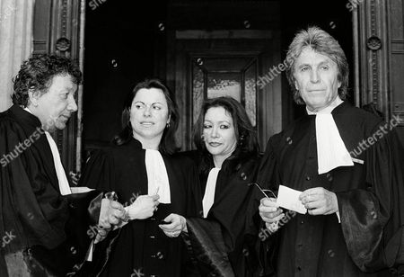 Editorial photo of Klaus Barbie Trial, Lyon, France
