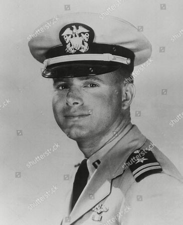 Stock Picture of Don Walsh Navy Lt. Don Walsh, above, of San Diego shown and scientist Jacques Piccard were aboard the Navy's bathyscaph Trieste when it set a new world diving record of 37,800 feet, January 23, the Navy announced. The craft went to the bottom of the Marianas Trench in the Pacific