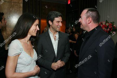 Katherine Ross, Michael Govan and Edward Menicheschi