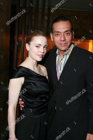 Stock Picture of Melissa George and Claudio Dabed