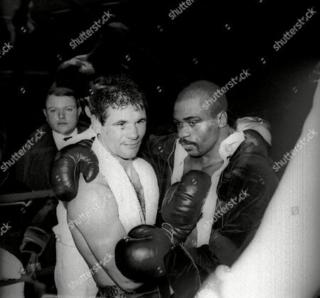 "Rubin Carter Rubin ""Hurricane"" Carter and Italian boxer Fabio Bettini pose after a fight at the Palais des Sports in Paris. Carter, who spent almost 20 years in jail after twice being convicted of a triple murder he denied committing, died at his home in Toronto, according to long-time friend and co-accused John Artis. He was 76"