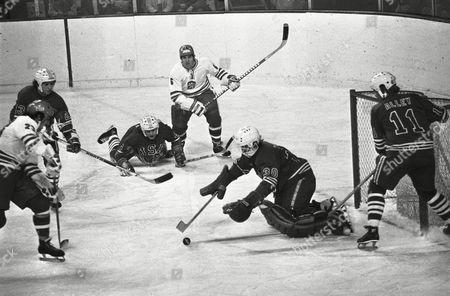 Editorial photo of Olympic Winter 1976 Innsbruck Austria Ice Hockey Action, Innsbruck, Austria