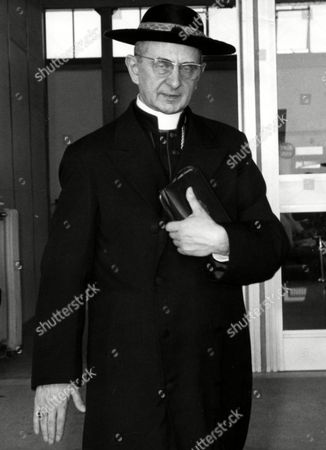 Giovanni Battista Card. Montini, Archbishop of Milan, is seen in this undated picture. He was elected new Pope with name of Paul VI